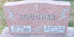Jeanette M <i>Smith</i> Boucher