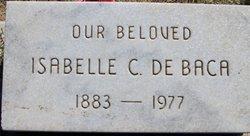 Isabelle <i>Garcia</i> C De Baca