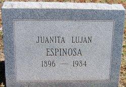 Juanita <i>Lujan</i> Espinosa