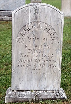 Laura E. <i>Ford</i> Allen