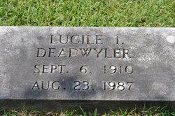 Lucile Ione <i>Daub</i> Deadwyler
