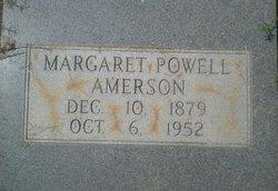 Margaret <i>Powell</i> Amerson