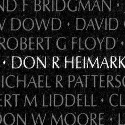 Sgt Don Ray Heimark
