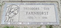 Theodore Herman Fahnhorst