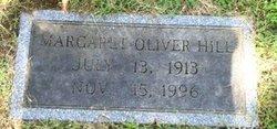 Margaret Maggie <i>Oliver</i> Hill