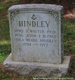 Leila May <i>Reade</i> Hindley