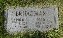 Harold B Bridgeman