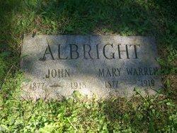 Mary <i>Warren</i> Albritgh
