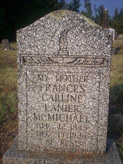 Frances Caroline <i>Lanier</i> McMichael