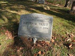 Dortha M <i>Smith</i> Trout