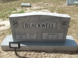 Geraldine Gerry Blackwell