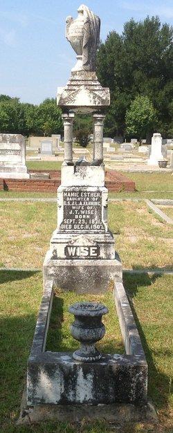 Mamie Esther <i>Fanning</i> Wise