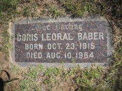 Doris Leoral <i>Moon</i> Baber