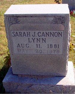 Sarah J. <i>Cannon</i> Lynn
