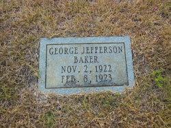 George Jefferson Baker