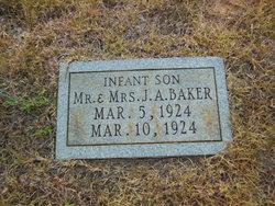 Infant Son Baker