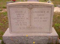 Sallie J <i>Smith</i> Davis