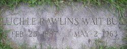 Mrs Lucille Rawlins <i>Wait</i> Bull
