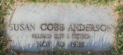 Susan <i>Cobb</i> Anderson