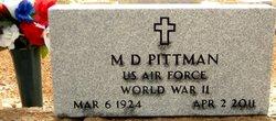 M D Pittman