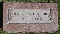 Clara L Altenburg