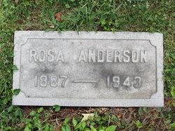 Rosa <i>Rahm</i> Anderson