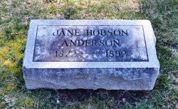 Jane <i>Hobson</i> Anderson