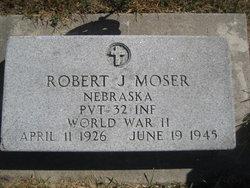Pvt Robert J. Moser