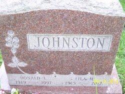 Lila M <i>Corliss</i> Johnston