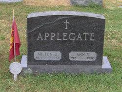 Milton J Applegate