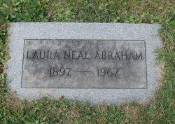 Laura Elizabeth <i>Neal</i> Abraham