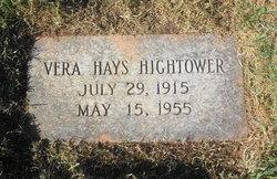Vera <i>Hayes</i> Hightower