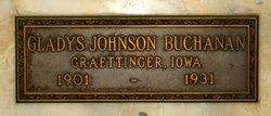 Gladys <i>Johnson</i> Buchanan