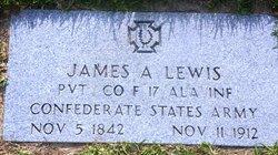 Pvt James A. Lewis