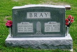 Lydia Belle <i>Cochran</i> Bray