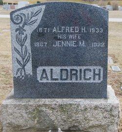 Jennie M. <i>Reed</i> Aldrich