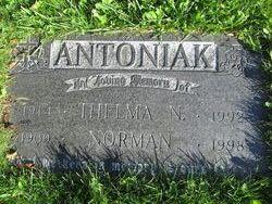 Thelma Natalia <i>Baron</i> Antoniak