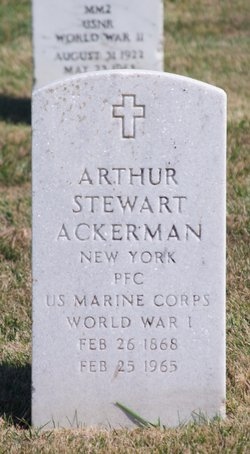 Arthur Stewart Ackerman