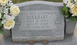 Shirley Rose <i>Cunningham</i> Burkhart