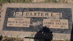 Leonia <i>Shelten</i> Baxter