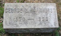 George Loomis Parkhurst