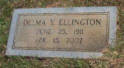 Delma <i>Hall</i> Ellington