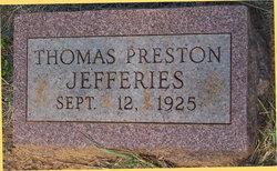 Thomas Preston Jefferies