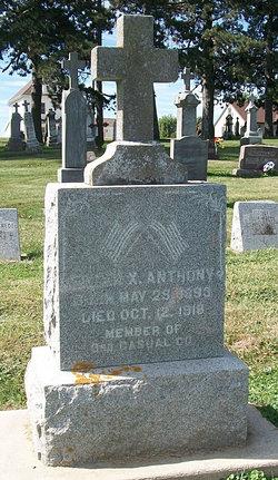 Frank X. Anthony