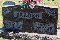 Betty Lou <i>Burden</i> Braden