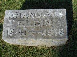 Amanda E. <i>Durley</i> Elgin