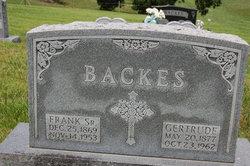 Francis Frank Backes, Sr