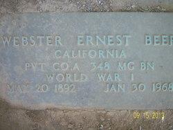 Webster E Beer