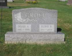 Bernice Eloise <i>Allison</i> Groff