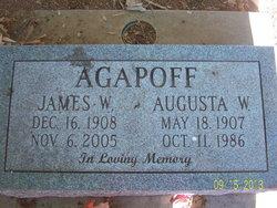 Augusta William <i>Loskutoff</i> Agapoff
